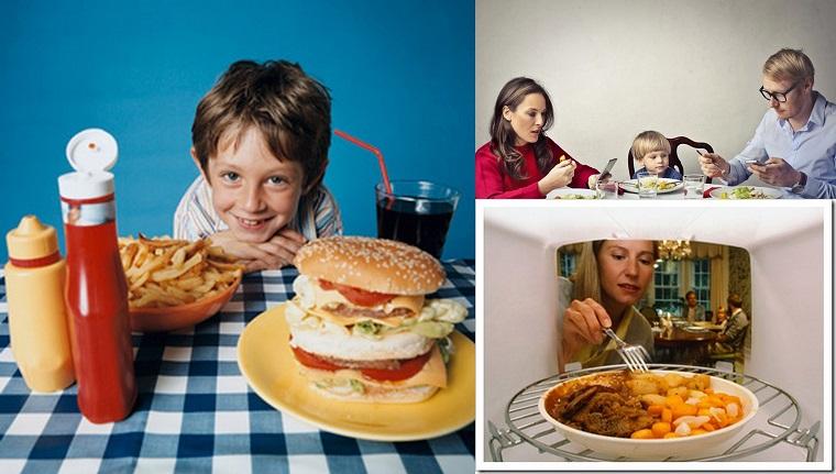 Alimentazione moderna - mangiare inconsapevolmente