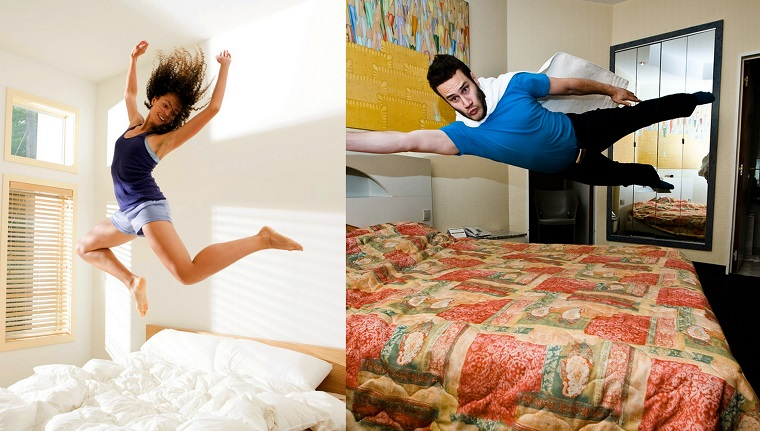 Salta fuori dal letto energitico pronto per affrontare la giornata