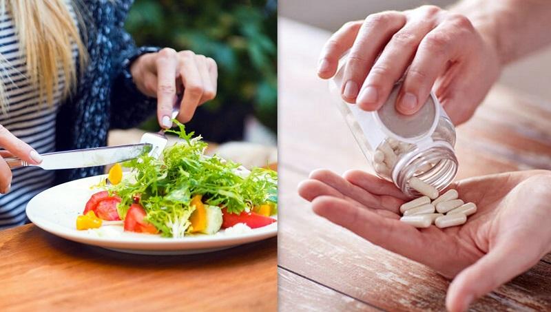 mangiare verdura e frutta o assumere un multivitaminico per sbloccare il metabolismo