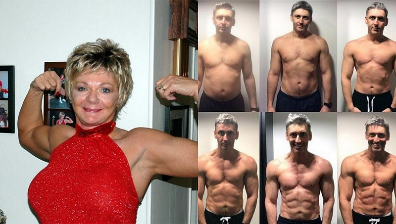 rallentamento invecchiamento con esercizi di forza