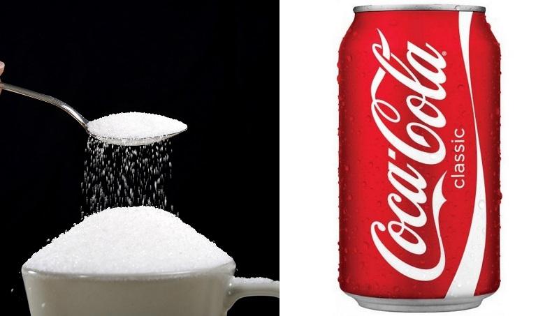 Coca cola contiene zucchero raffinato che fa ingrassare